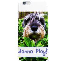 Wanna Play!? iPhone Case/Skin