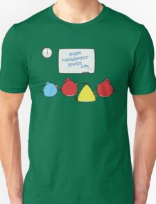 Angry Birds Therapy  Unisex T-Shirt