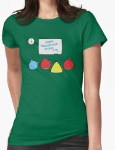 Angry Birds Therapy  Womens Fitted T-Shirt