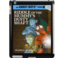 Riddle of the Mummy's Dusty Shaft iPad Case/Skin
