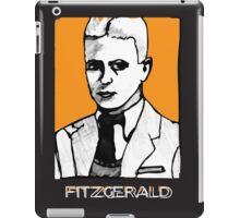 F Scott Fitzgerald 1920s Portrait  iPad Case/Skin