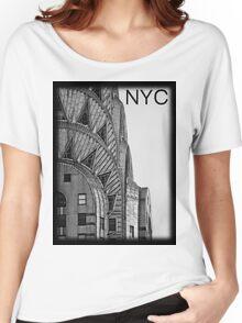 Chrysler Building Women's Relaxed Fit T-Shirt