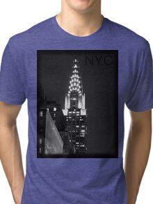 Chrysler Building Tri-blend T-Shirt