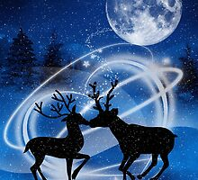The Magic of Love Reindeer by Doreen Erhardt