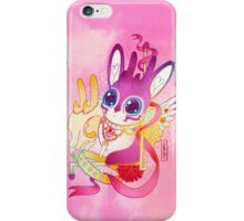 Magical Pretty Princess Sugar Ribbon Jackalope-Chan iPhone Case/Skin