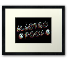 The Mighty Boosh – Electro Poof Framed Print