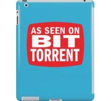 As seen on BitTorrent iPad Case/Skin