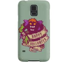 Monster and old ribbon for Halloween Samsung Galaxy Case/Skin