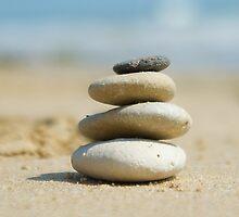 zen stones  by Carine LUTT