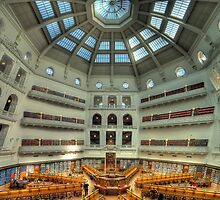 State Library - Melbourne by Richard  Cubitt