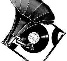 Music Phonograph by alexklp