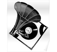 Music Phonograph Poster