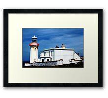 Arranmore Lighthouse Framed Print