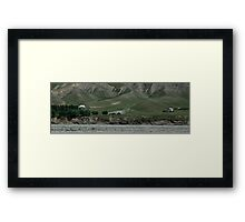 House by the River Framed Print