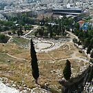 The Dionysus Theatre in Athens by HELUA