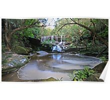 The Grotto, Somersby Falls Poster