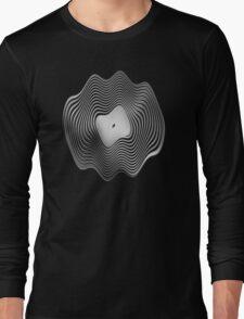 Warped Vinyl LP Record - Metallic - Steel T-Shirt