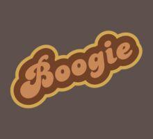 Boogie - Retro 70s - Logo One Piece - Short Sleeve