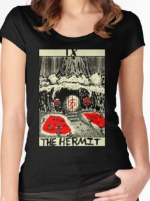 Tarot: The Hermit Women's Fitted Scoop T-Shirt