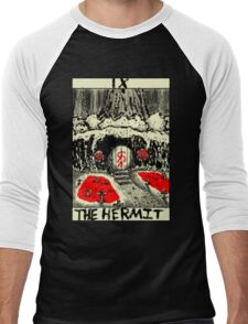 Tarot: The Hermit Men's Baseball ¾ T-Shirt