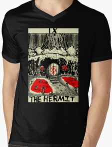 Tarot: The Hermit Mens V-Neck T-Shirt