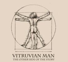 Vitruvian Man Humor by SymbolGrafix