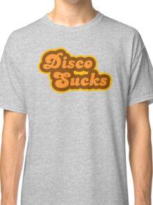 Disco Sucks - Retro 70s - Logo Classic T-Shirt