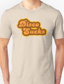 Disco Sucks - Retro 70s - Logo Unisex T-Shirt