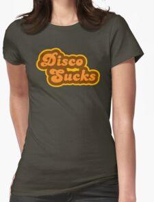 Disco Sucks - Retro 70s - Logo Womens Fitted T-Shirt