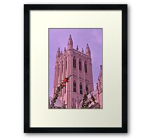 Spring at National Cathedral Framed Print