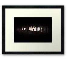 Strip Light Framed Print