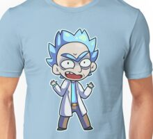 Small Angry Rick Unisex T-Shirt