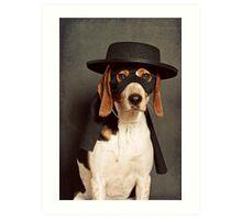 Even Zorro needs a best friend Art Print