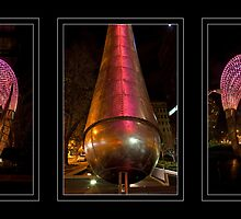 Orion triptych by Travis Easton