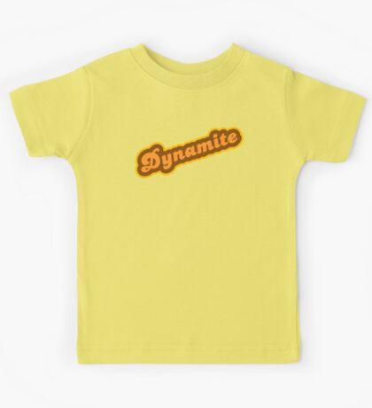 Dynamite - Retro 70s - Logo Kids Tee