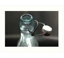 Open Bottle Art Print