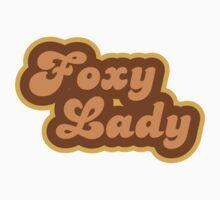Foxy Lady - Retro 70s - Logo One Piece - Long Sleeve