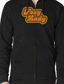 Foxy Lady - Retro 70s - Logo T-Shirt