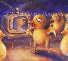 What's On? by Cindy Schnackel