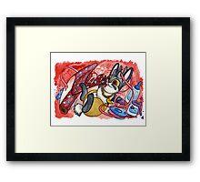 February Jackalope Framed Print