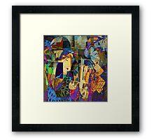 SISTER SHARE Framed Print