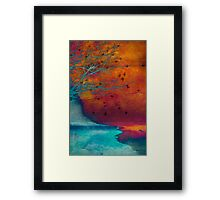 Into the Shore Framed Print
