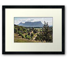 Shale Works - Glen Davis NSW Australia Framed Print