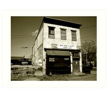 Closed for Business Art Print