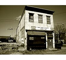 Closed for Business Photographic Print