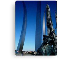 United States Air Force Memorial - Washington, DC Metro area Canvas Print