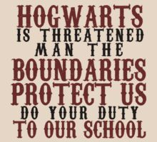 Hogwarts in Threatened by Fiona Boyle
