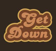 Get Down - Retro 70s - Logo by graphix