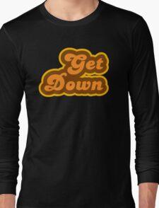 Get Down - Retro 70s - Logo Long Sleeve T-Shirt
