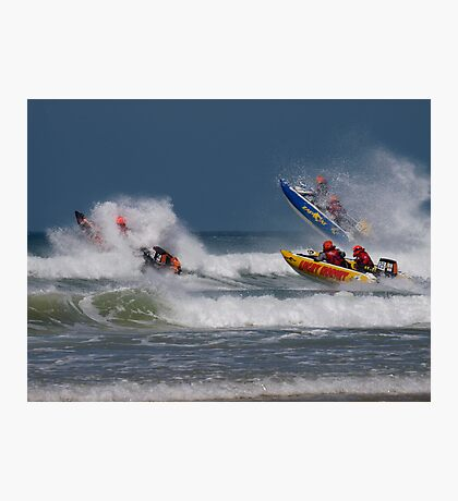 Power boat racing Photographic Print
